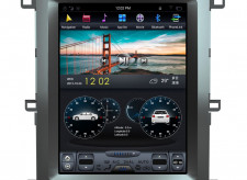 Штатная магнитола Parafar с IPS матрицей Tesla для Toyota Land Cruiser 100 2002-2008 на Android 7.1 (PF450T12)