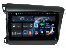 Автомагнитола для Honda Civic (СЕДАН) RedPower 51132 R IPS DSP ANDROID 8+