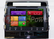 Штатная магнитола Redpower 21200B на Android 4.4 для автомобиля Toyota Land Cruiser 200