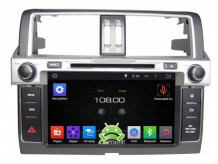 Штатная магнитола Roximo CarDroid RD-1106 для Toyota Land Cruiser Prado 150, 2013 (Android 4.4.4)